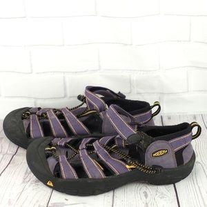 Keen sz 6 purple water sandals shoes